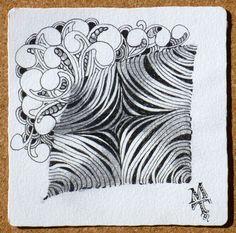 Zentangle by Maria Thomas ~ I am the diva - Certified Zentangle Teacher (CZT®): Weekly Challenge 100!!!!!!!!