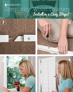 New! Simplicity Shutters That You Can Install Yourself