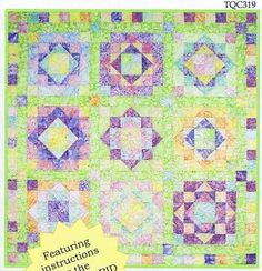 Sea Glass Quilt Pattern by The Quilt Company