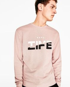 Image 2 of SWEATSHIRT WITH TEXT from Zara