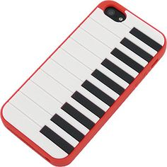 #Piano Skin Cover for Apple #iPhone 5, Red $12.99 From #DayDeal