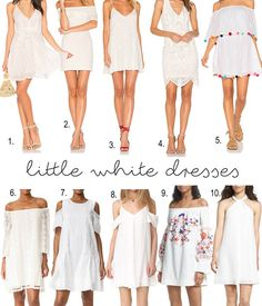 When To Wear White Dresses