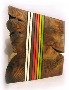 Wood wall sculpture by ViolettePotvinReich on Etsy, $365.00