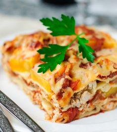 Λαζάνια με λαχανικά και ξινομυζήθρα | Γιάννης Λουκάκος