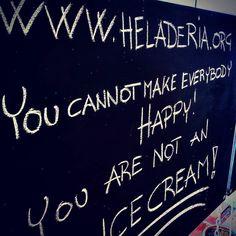 Start with #yourself. Have #gelato. #loveblu #mojacar  www.heladeria.org