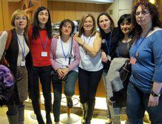 En el III encuentro RA con las compañeras de viaje. Febrero, 2013.