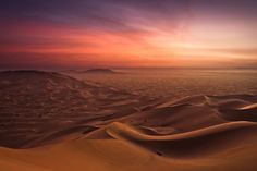 Most Colourful Places on the Globe - Desert in Morocco. By andywon