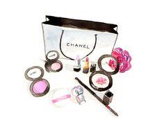 Chanel Makeup Illustration