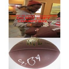 Eric Berry, Kansas City Chiefs, Tennessee, Vols, Signed, Autographed, Auto, NFL Football, a COA with the Proof Photo of Eric Signing the Football Will Be Included