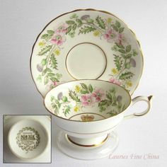 Free Shipping Paragon QUEENS CORONATION 1953 Bone China Tea Cup and saucer - Made in England by LauriesFineChina on Etsy