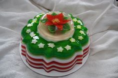 Christmas Gelatin Art by The Jello Lady, via Flickr