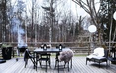 Entertain outdoors all year round