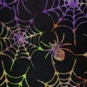 Timeless - Tonga Batik Haunted - Boo Spiders Batik