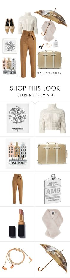 """""""Amsterdam Perspective"""" by ms-wednesday-addams ❤ liked on Polyvore featuring Brunello Cucinelli, Pottery Barn, Globe-Trotter, Sara Battaglia, Jet Set Candy, Reiss and Happy Plugs"""