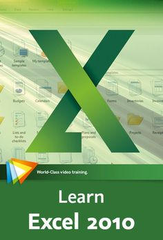 Video2Brain Learn Excel 2010 - http://naughtysms.net/video2brain-learn-excel-2010/
