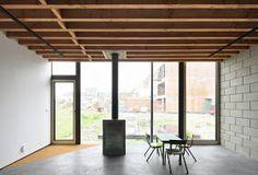 a f a s i a: architecten de vylder vinck taillieu Dining, Interior Design, Contemporary Art, Diary Book, Architecture, Nest Design, Food, Home Interior Design, Interior Designing
