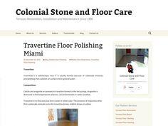 Travertine Floor Polishing Miami