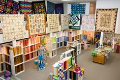 The Quilt Company, a fixture in Allison Park, Pennsylvania, since 1993, features an expanding inventory of fabric and patterns.