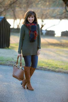 Today I'm styling a pair of over the knee boots from Payless. They are trendy and cute but the best part is they're affordable.