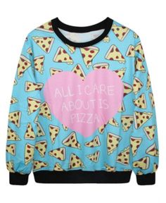 This cheesy gem. | 19 Affordable Sweatshirts That Are Cozier Than Your Ex-Boyfriend