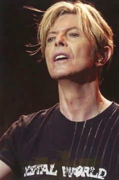 David Bowie looks a lot like Sigourney Weaver - especially in this picture.