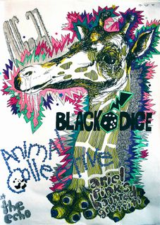 Animal Collective gig poster
