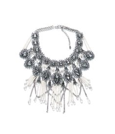 Zara - FRINGE AND CHAIN NECKLACE
