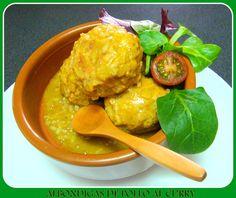 Albondigas de Pollo al Curry (con vídeo-receta)