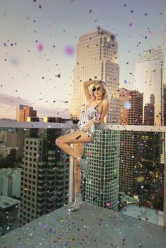 Jimmy Choo Hanover 65 Coarse Glitter Booties with Crystal Buckle $995