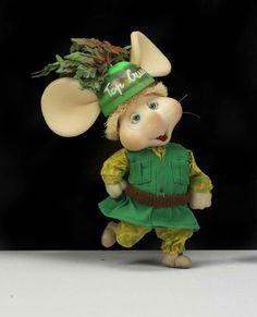 Topo Gigio green