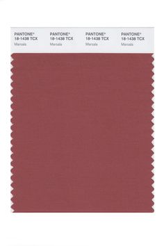 Color of the Year #2015 #Pantone #marsala   ick.
