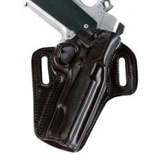 Galco Black Right-Handed Concealable Belt Holster for FN Five Seven USG