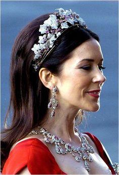 The Royal Order of Sartorial Splendor: My Ultimate Tiara Collection: The Danish Ruby Parure