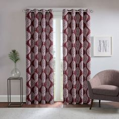 product image for Regency Heights® Zion Grommet Top Window Curtain Panel