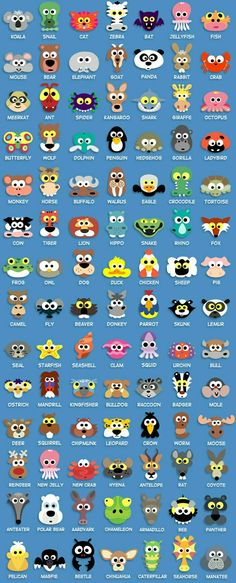 Perfect templates for wee felt animals! Dress up: Printable Animal Masks For Kids - great templates for felt crafts English Words, English Lessons, Learn English, Paper Punch Art, Punch Art Cards, Animal Masks For Kids, Mask For Kids, Paper Plate Animal Masks, Masks Kids