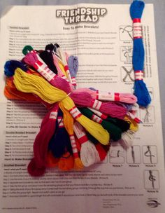 Friendship Bracelet Kit-Just in Time for Back to School