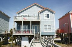 Oak Island Vacation Rentals | Oak Island Vacation Rentals | Ocean Potion |  (5 Bedroom Oceanfront House)#2014