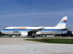 Air Inter A320 - wikimedia - Michel Gilliand GFDL