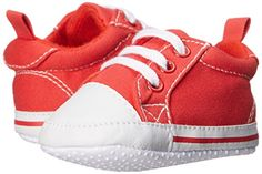 Soft, Non-Skid Sole Canvas Fabric Lace Up Sneaker