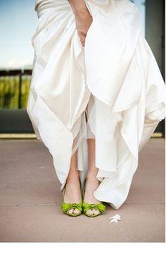 green. wedding. shoes. !!!!!!!!!!