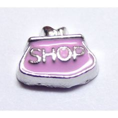 Shop Purse Locket Charm that fits brands including Origami Owl & My Journey Locket. Enamel Shop Purse on zinc alloy. Great looking charms that don't cost a fortune.
