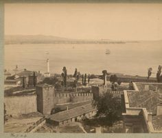 İstanbul-Ahırkapı, 19.century, Bibliothèque de la Maison Interuniversitaire des Sciences de l'Homme – Alsace, Photographe:Berggren, Guillaume