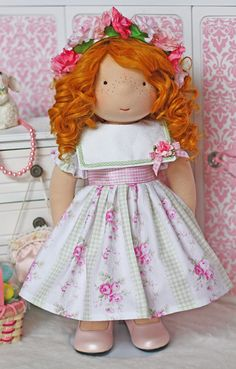 "Spring Song Dress for 18"" dolls"