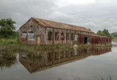 Derelict Boathouse - St Helens - Isle of Wight - Another View