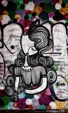 Street Art: Sonke - Athens, Greece