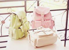 Pastel Backpacks