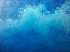 Wave by Haley, acrylic on canvas