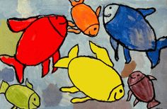 Primary & Secondary colour lesson from Deep Space Sparkle - ties in with art unit on Eric Carle