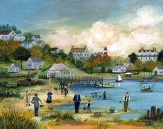 """""""View of Sisachacha Pond"""" - Janet Munro"""