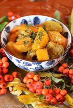 Colombo de porc aux légumes d'automne en cocotte